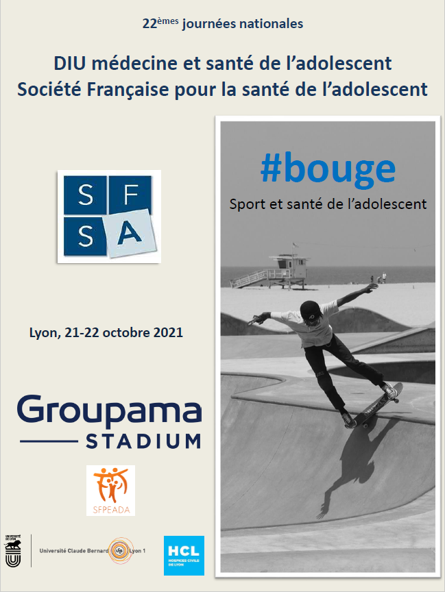 Congrès annuel de la Société Française de la Santé de l'Adolescent